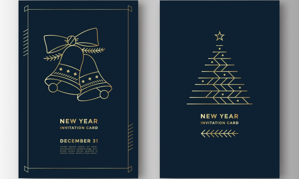 New year Card Prints