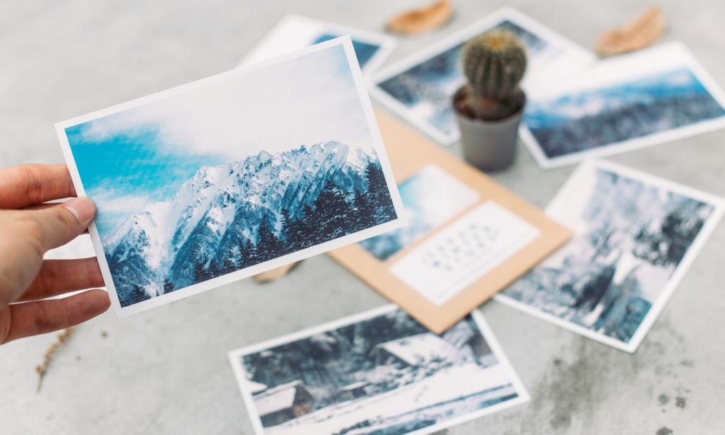 Winter Postcard Print
