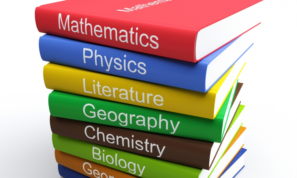 Education Coloured Textbooks