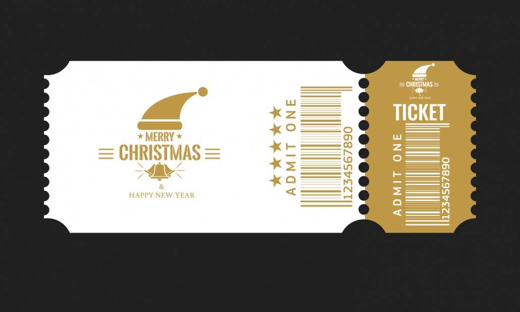 Ticket Design Template